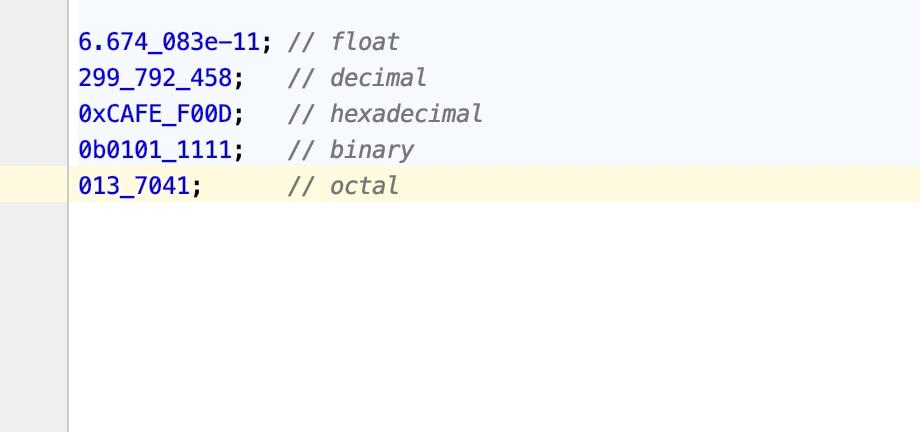 Adding numeric literal separators