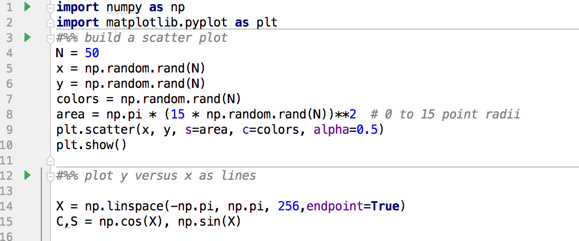 adding cells to the Python code