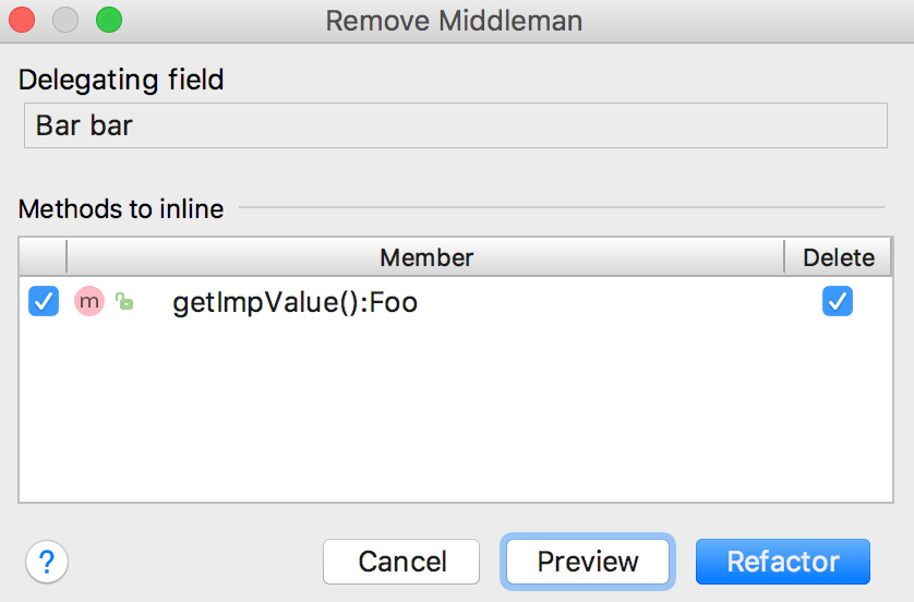 Remove middleman