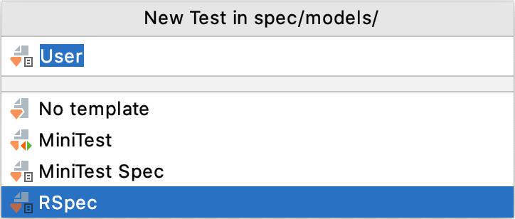 New Test popup