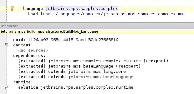 Sample language
