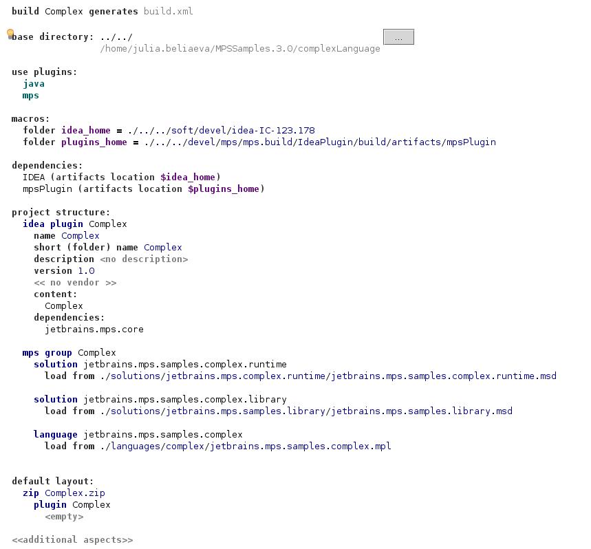 Samples script