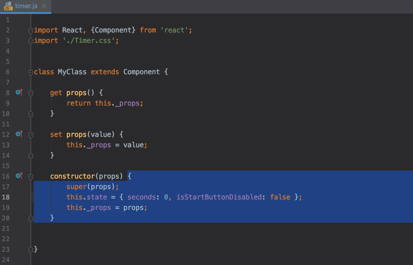 Code selection