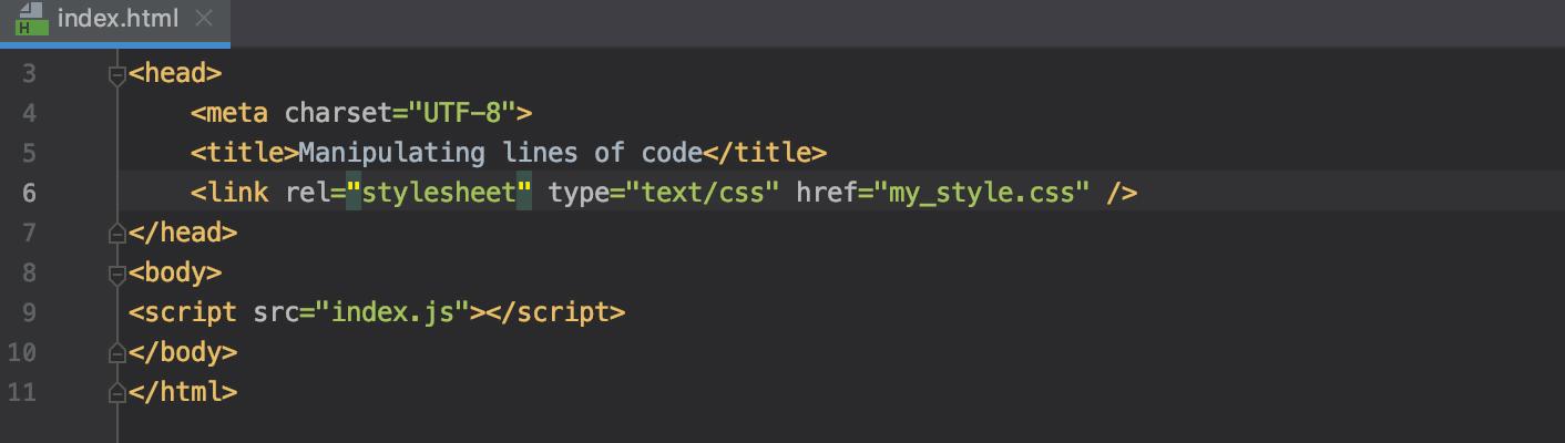 Move HTML attribute left or right