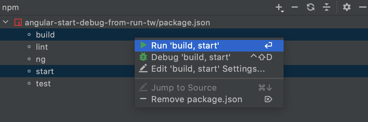 Run multiple scripts
