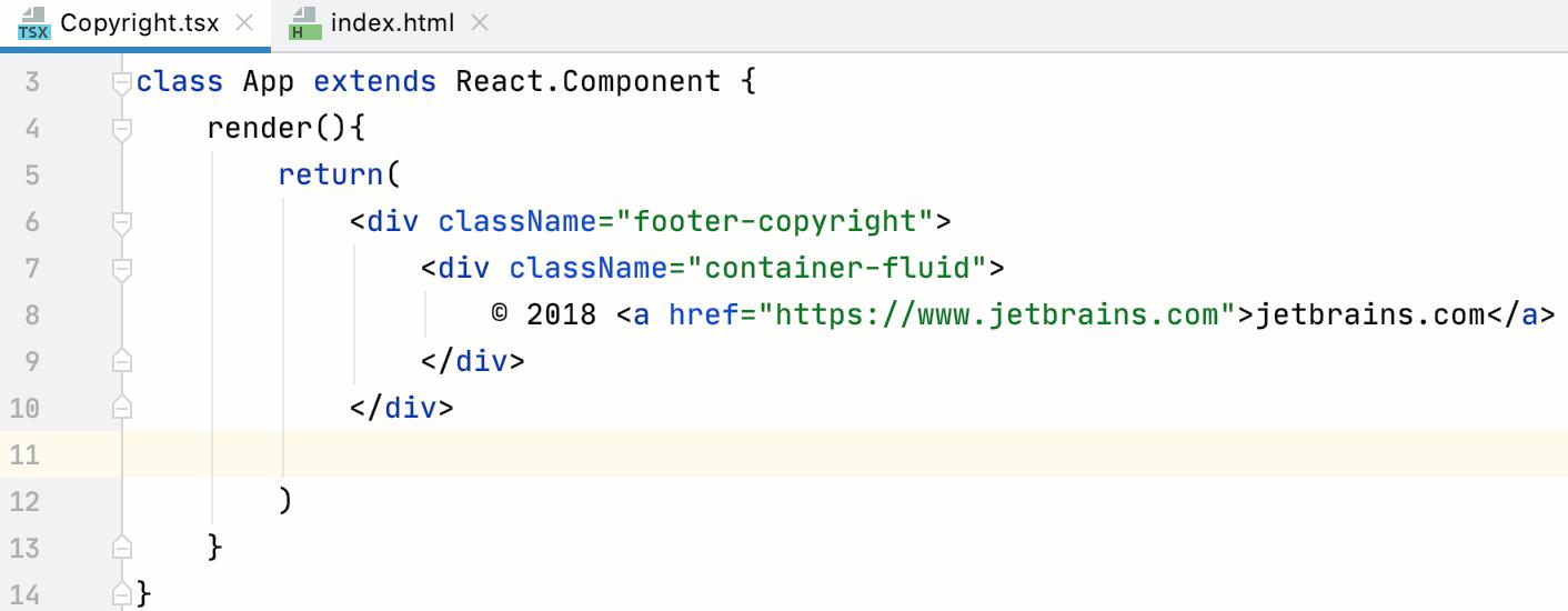 Transfer HTML to TSX