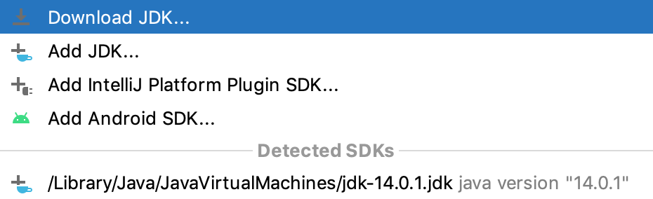 Download JDK