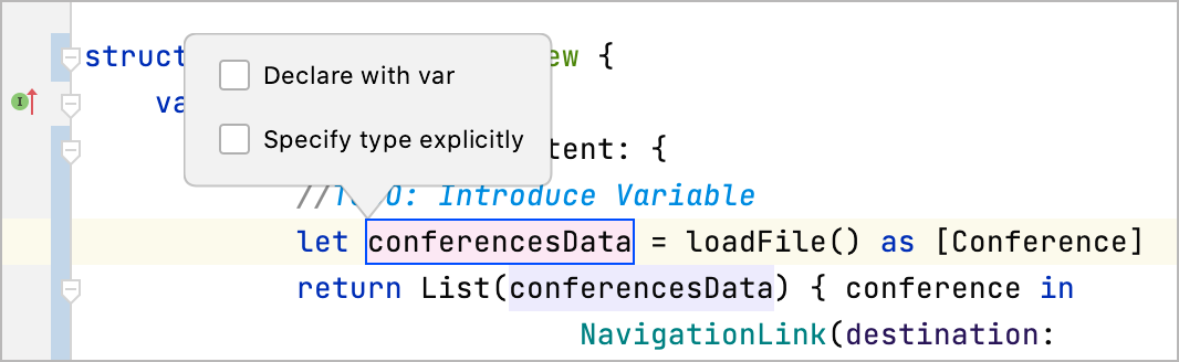 Rename the variable