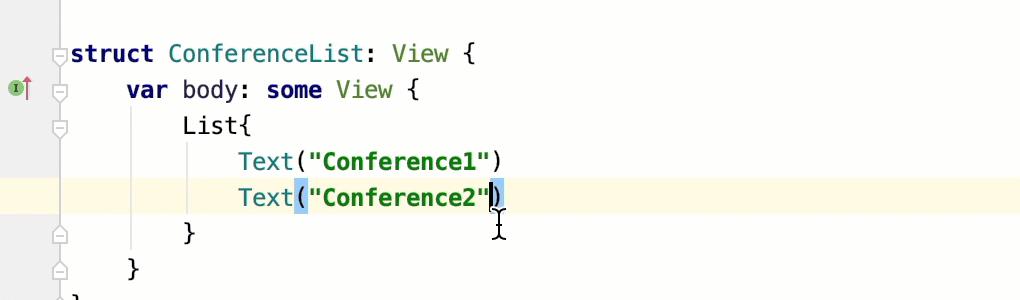 Reformat code