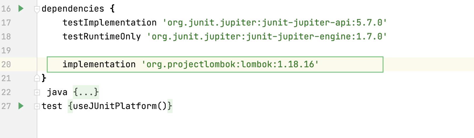 Build script: added dependency