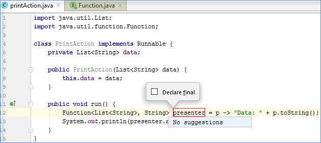 Changing variable name