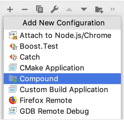 compound run/debug configuration