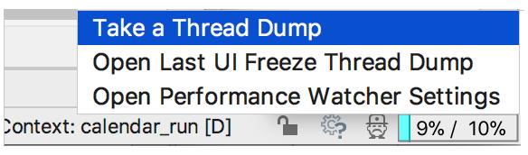 cpu usage indicator