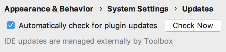 Cl toolbox externalupdate