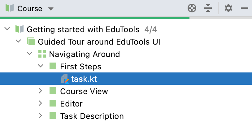 Edu course view
