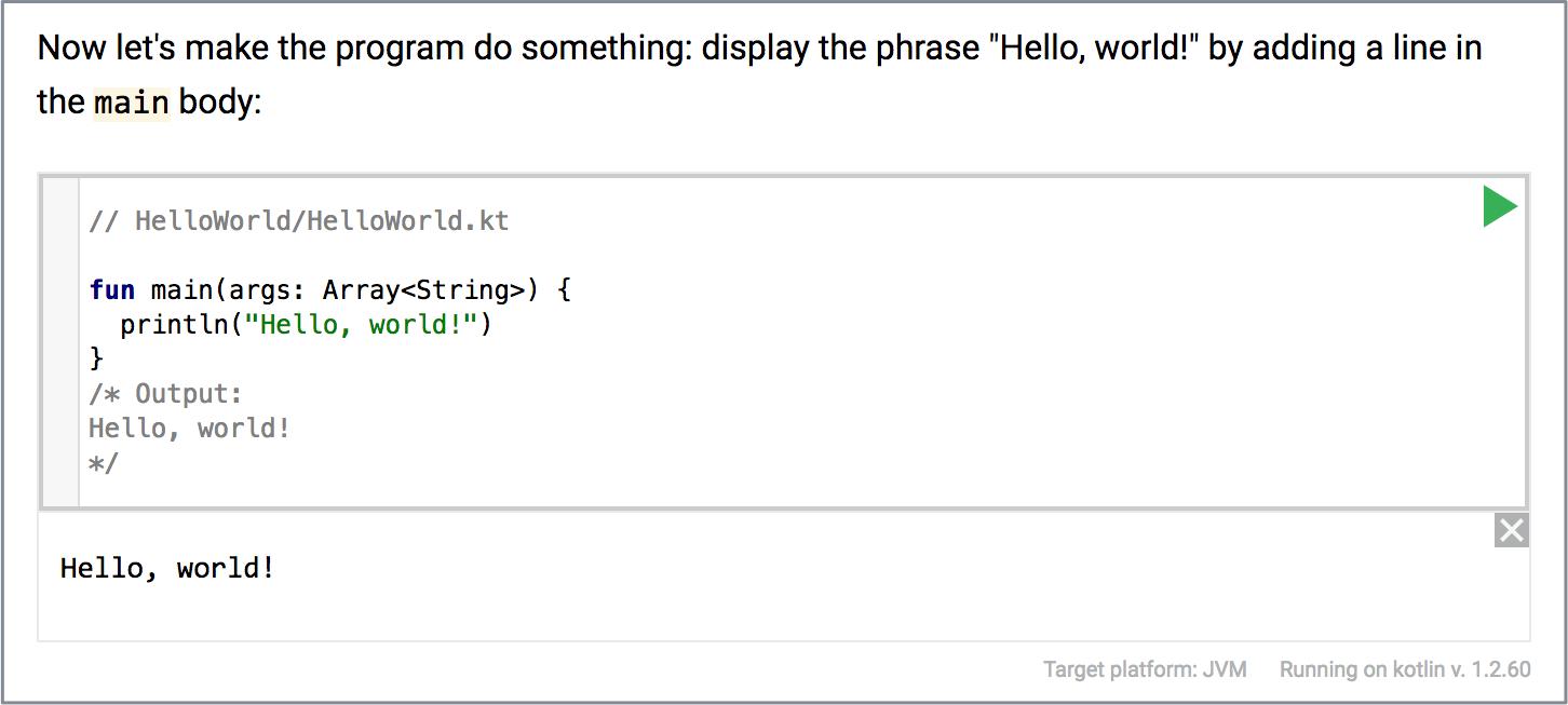 Running an atom code on Stepik