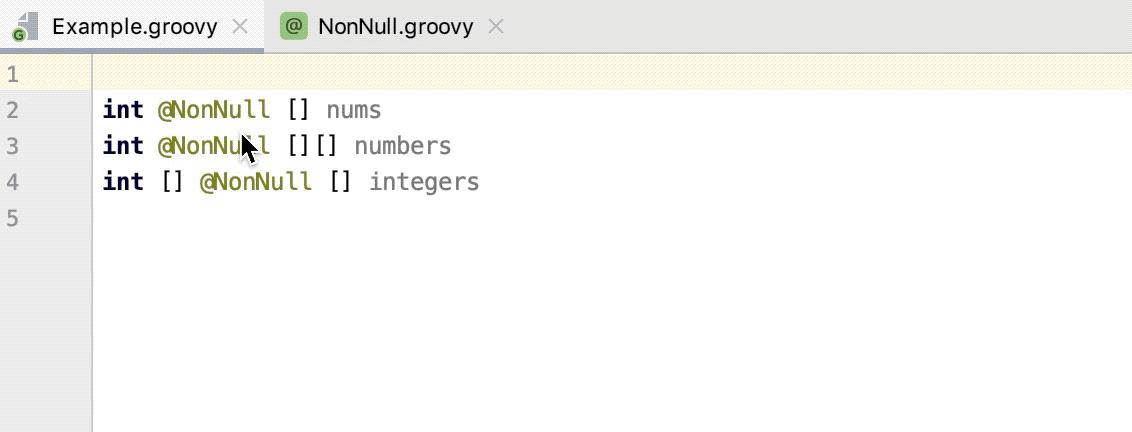 NonNull annotation