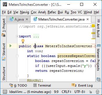 Vim emulation Insert mode