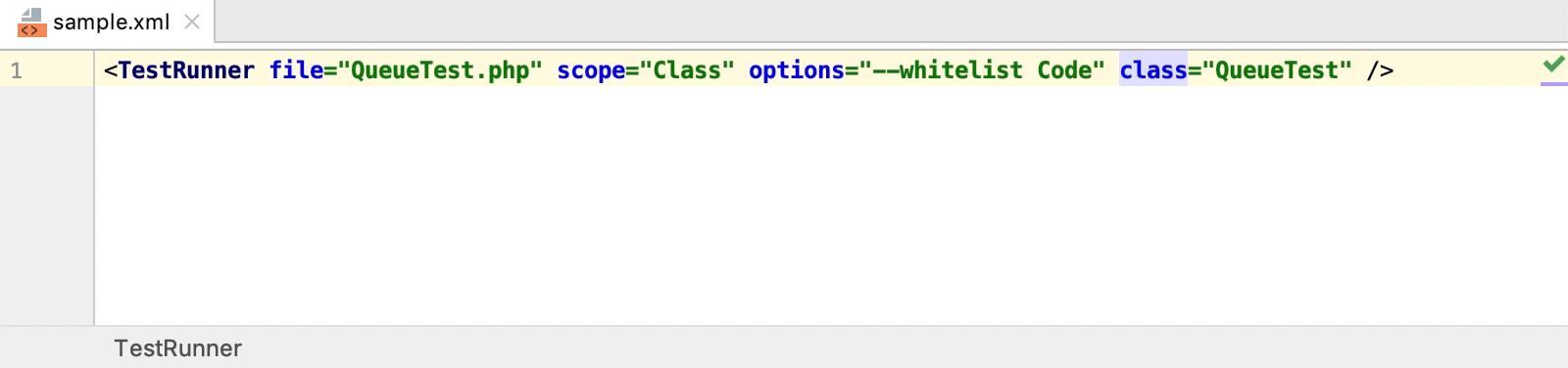 Move XML attribute left or right