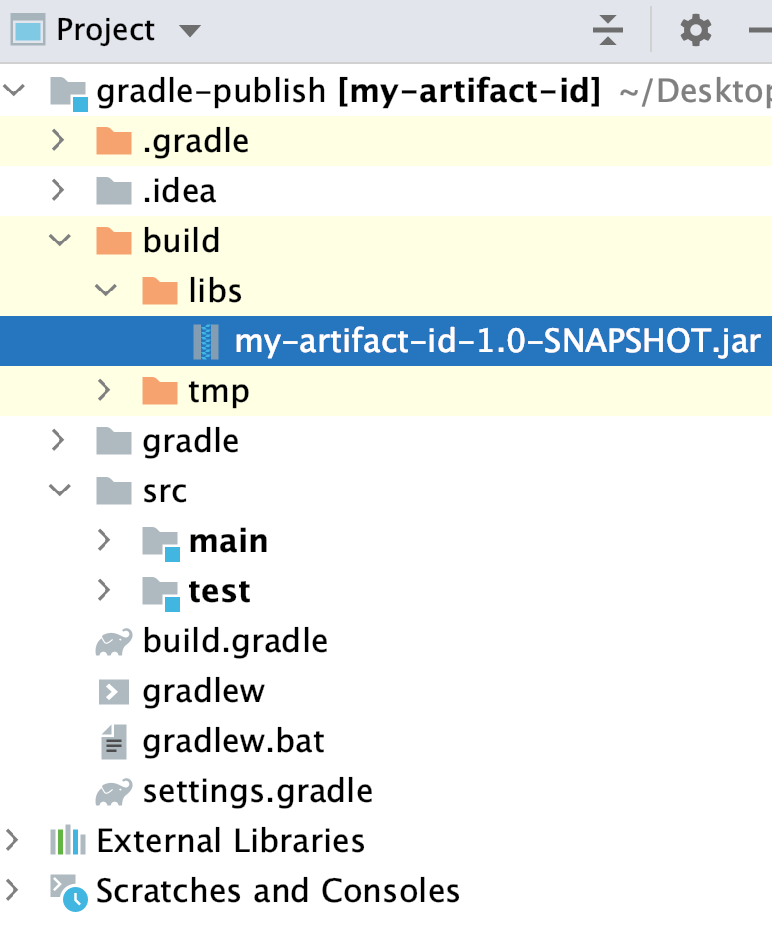 the Project tool window