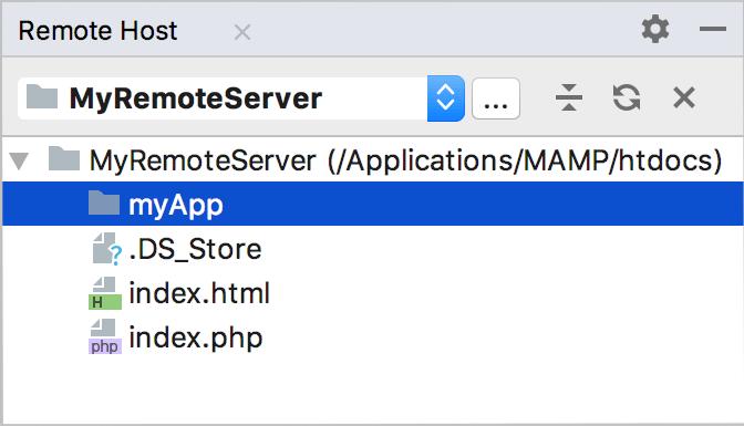 Remote Hosts tool window