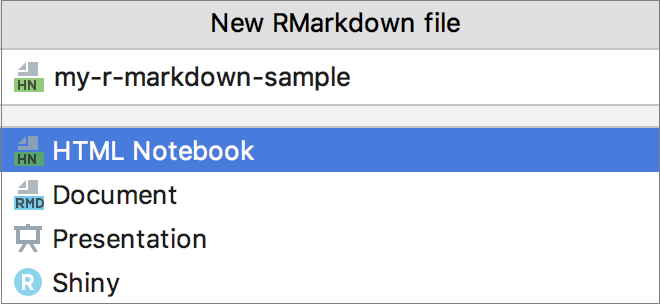 Create a new Markdown file