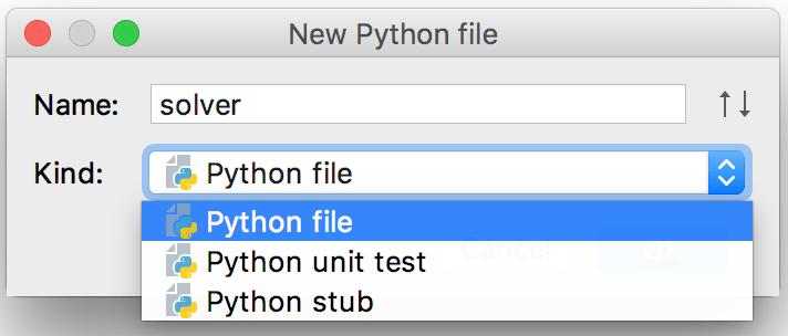 Py new python file