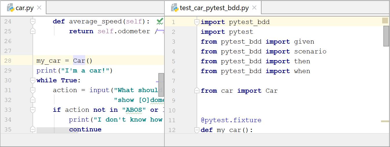 Splitting editor tabs