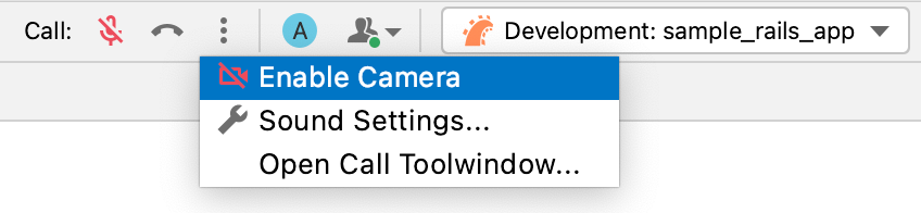 the Main toolbar