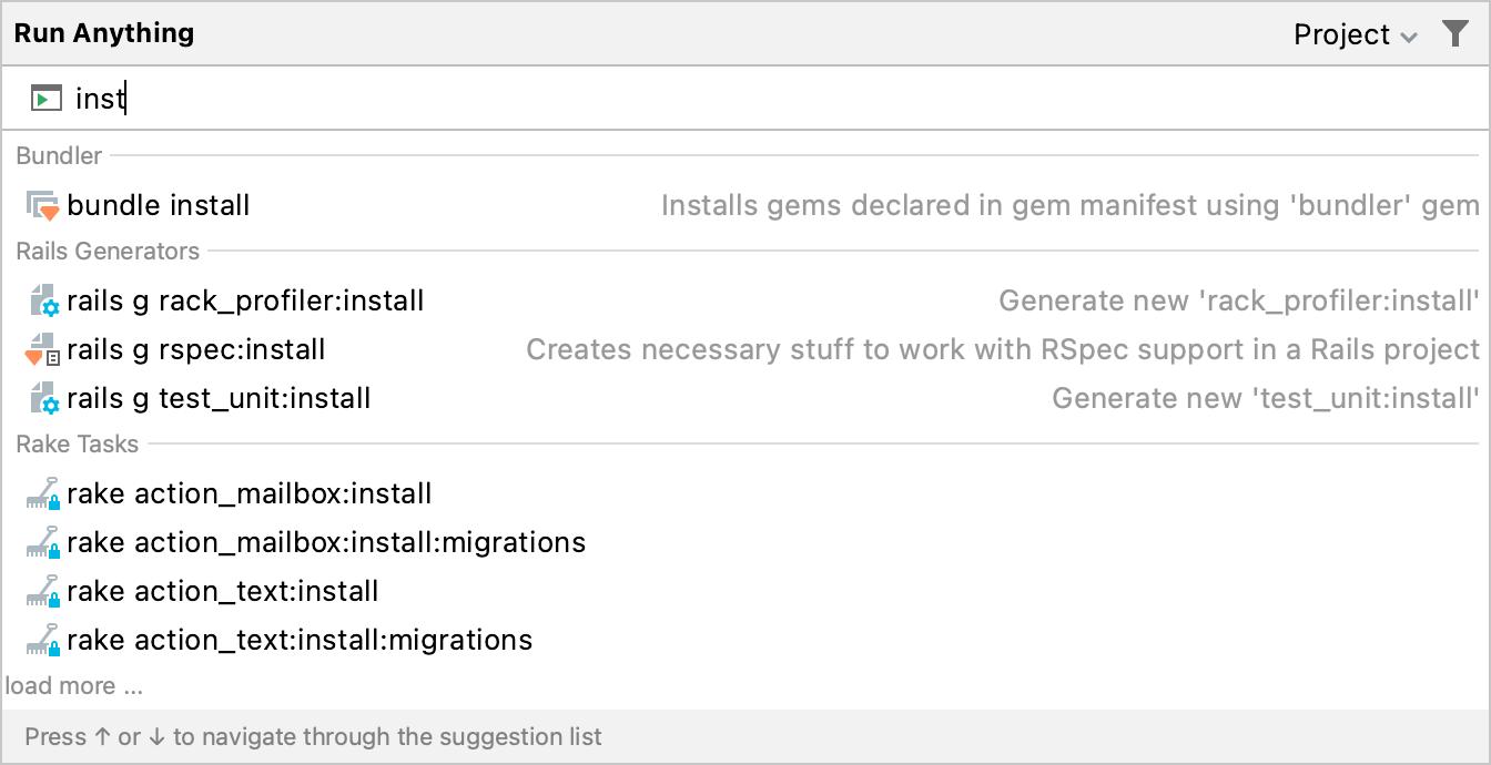 bundle install command