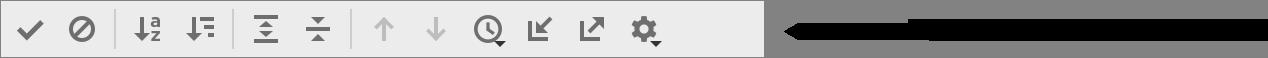the Test Runner toolbar