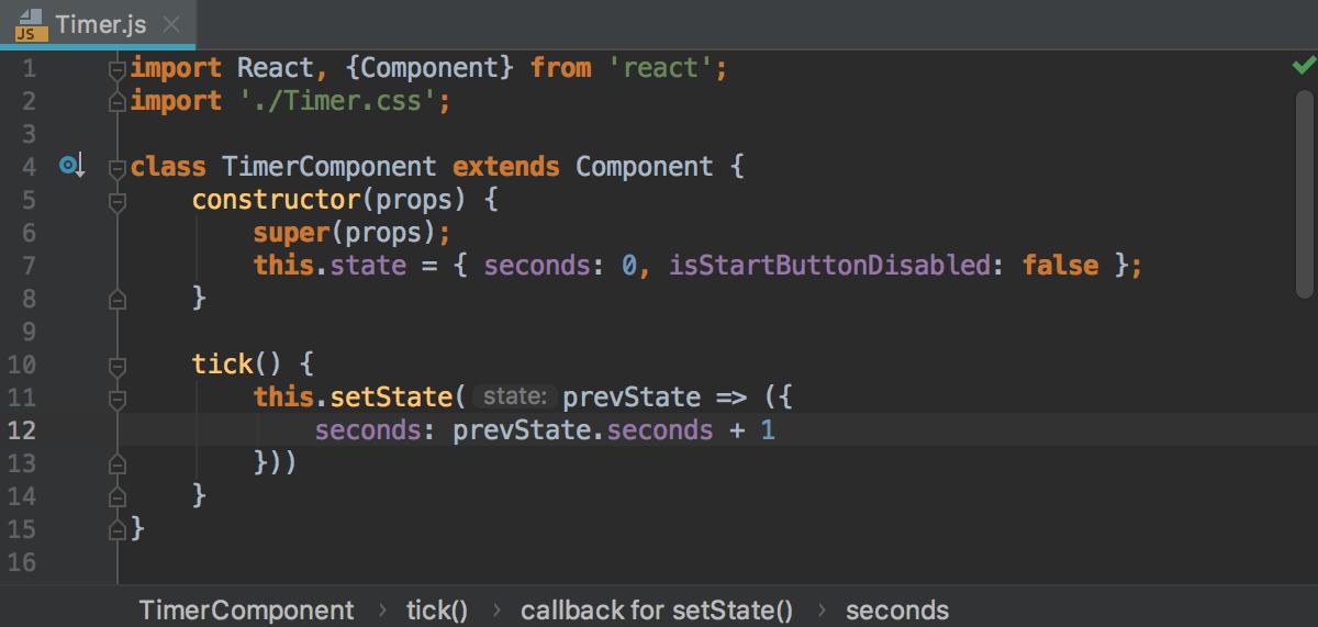 Default color schemes for JavaScript