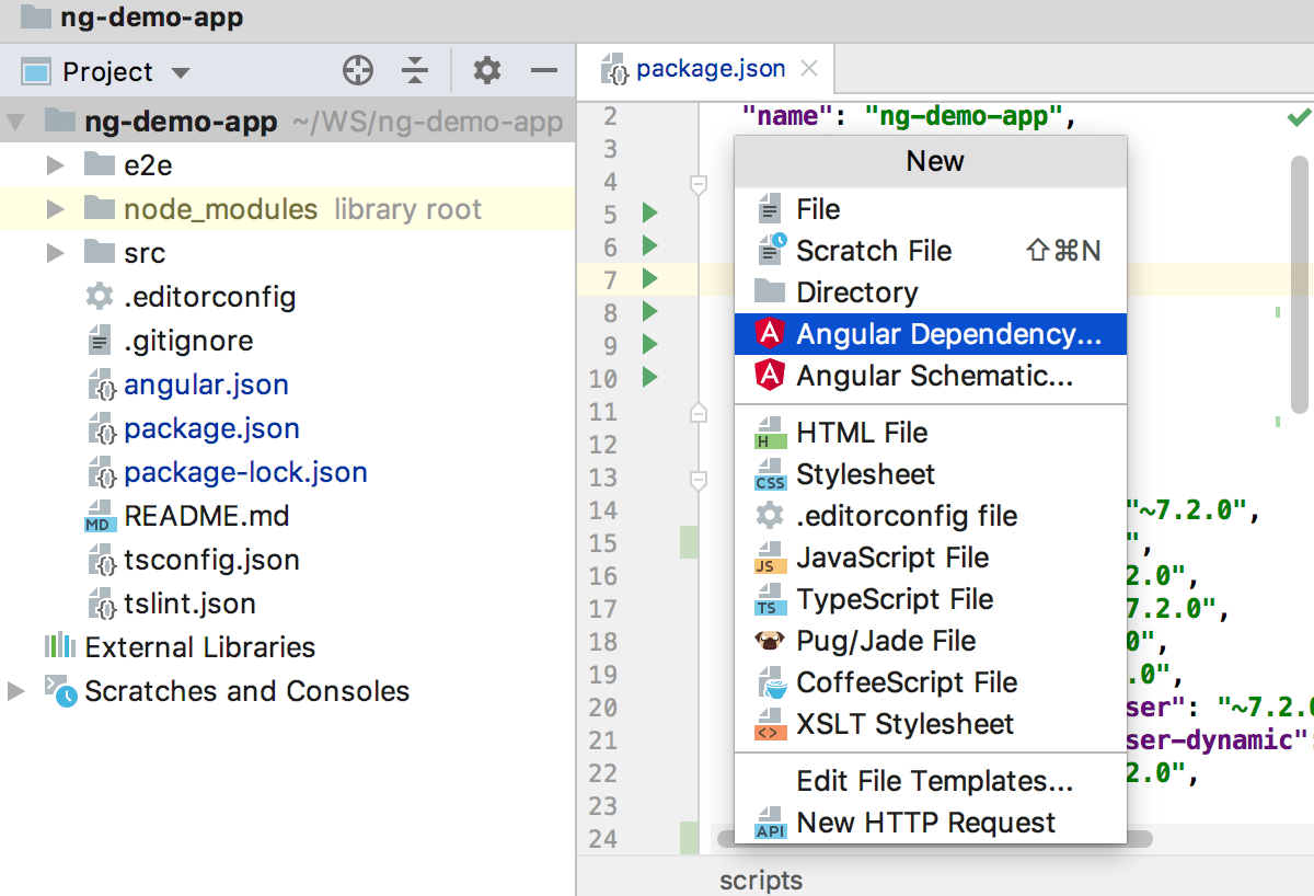 Adding Angular Material to a project with ng add