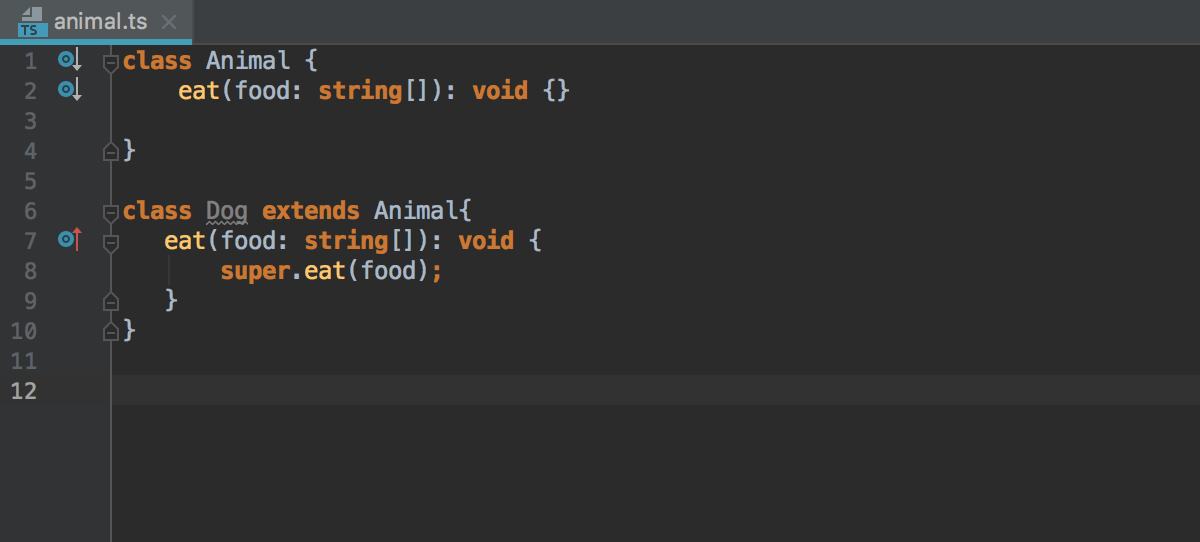 Completing overrides: generating the method body
