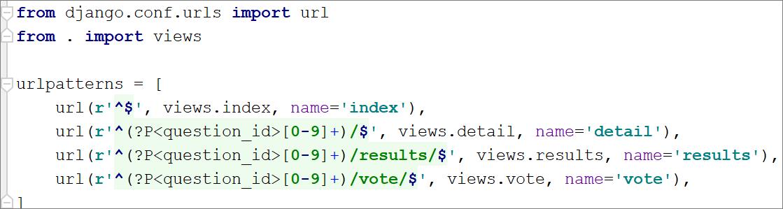 Default color schemes for Python