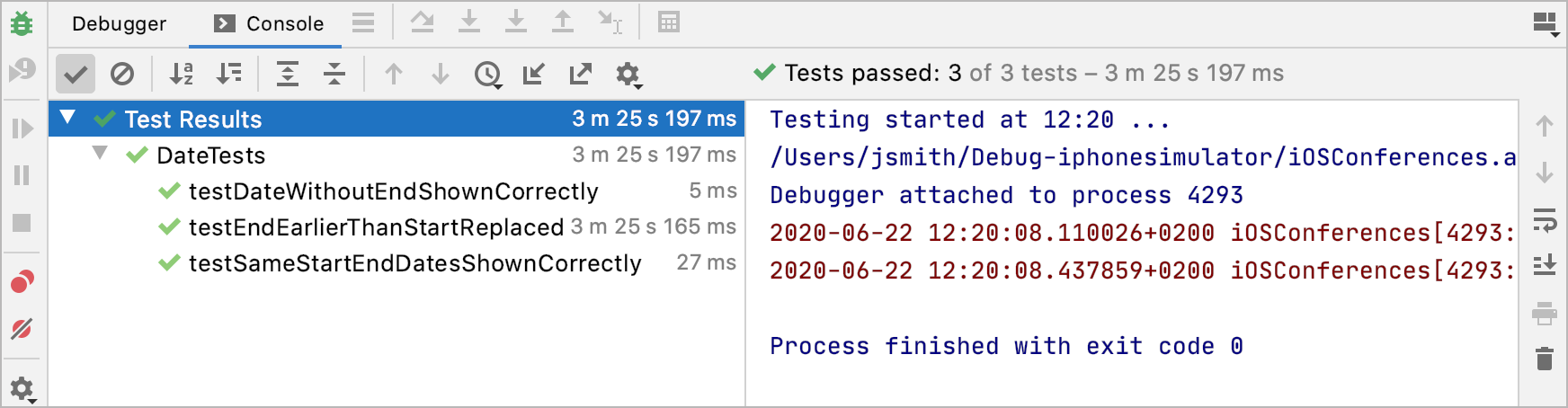 All tests fixed