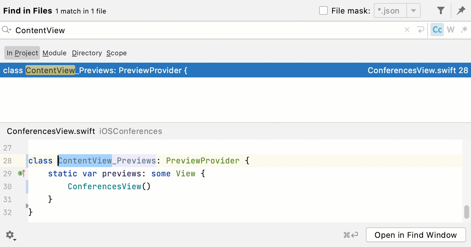 Edit code in preview