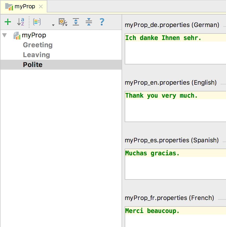 Resource bundle editor