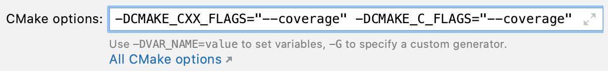 Compiler flags for branch coverage