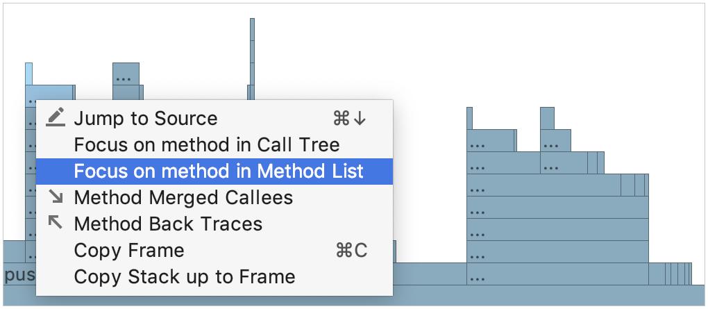 context menu for tab elements
