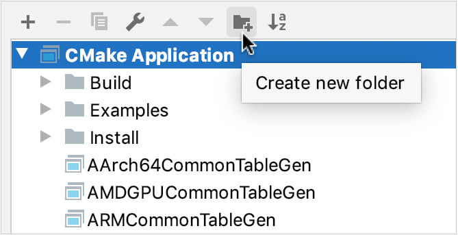 Adding a configuration folder