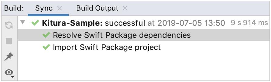 sync project dependencies