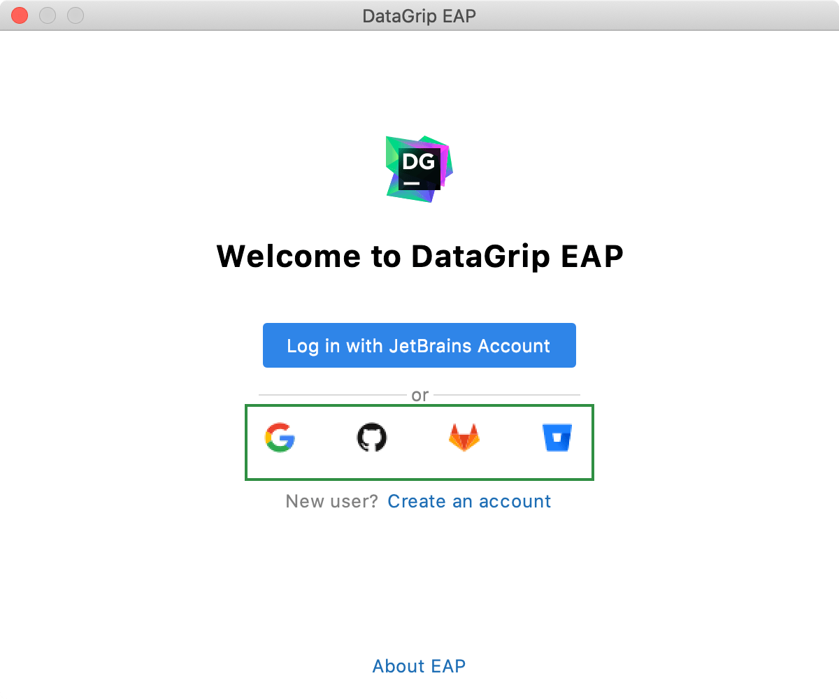 Login with a service account