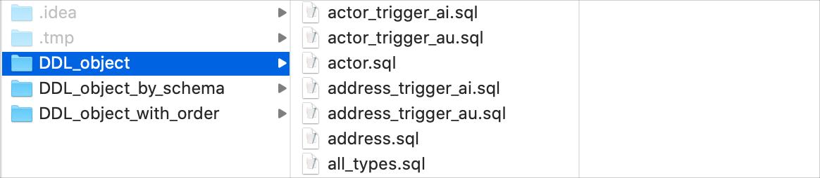 File per object