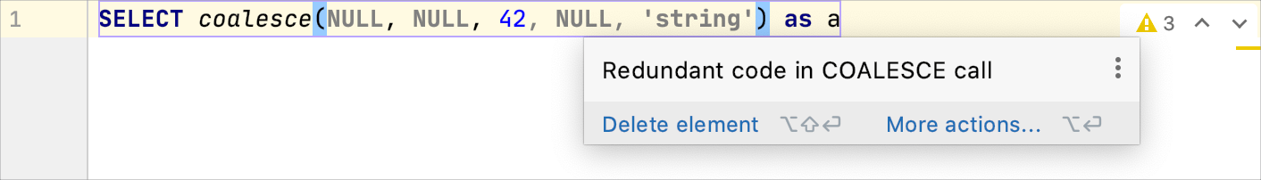 Redundant code in the COALESCE call