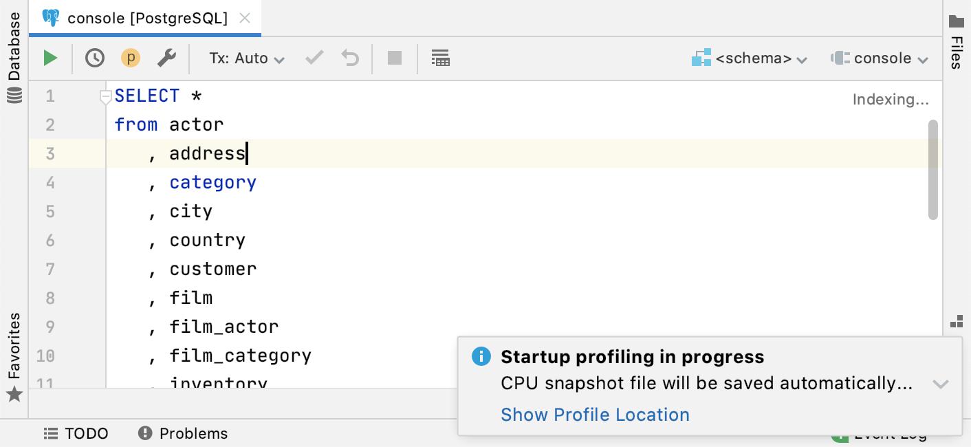 Slow startup