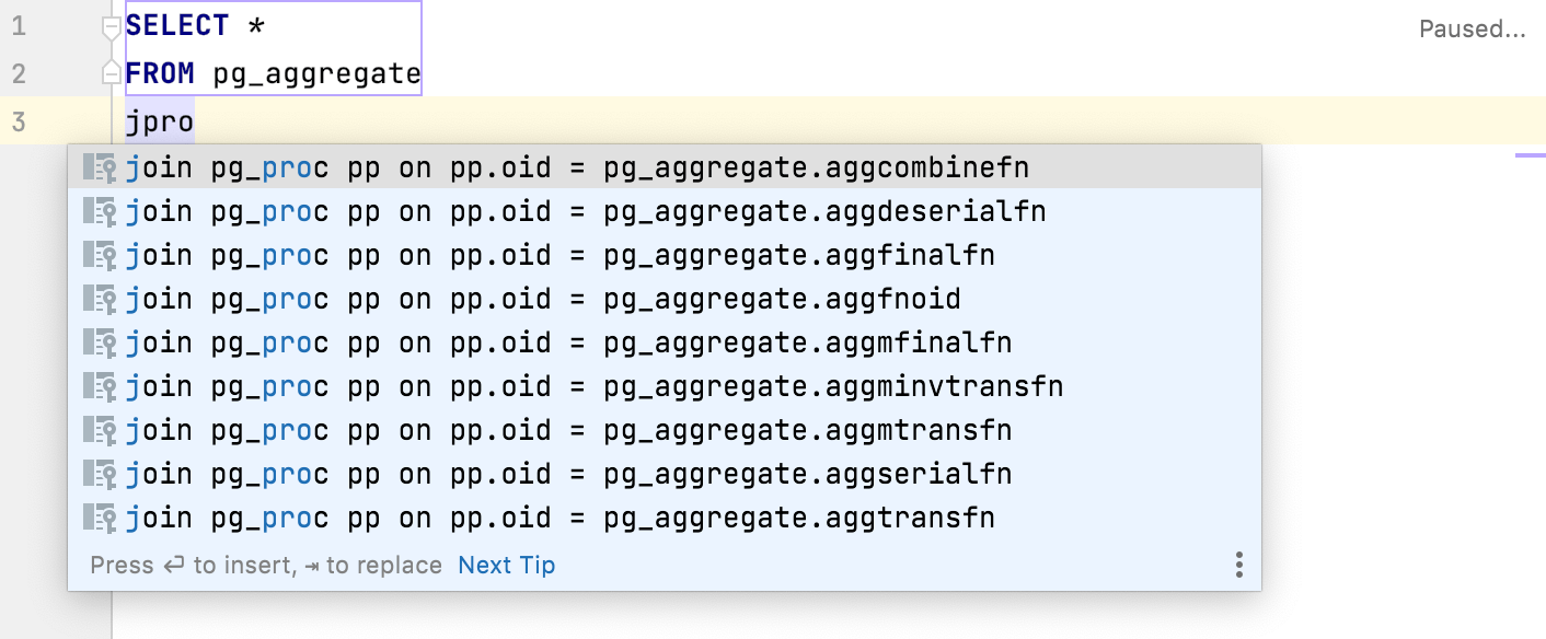 virtual foreign keys for pg_catalog