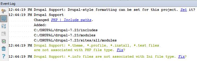 Drupal Event Log