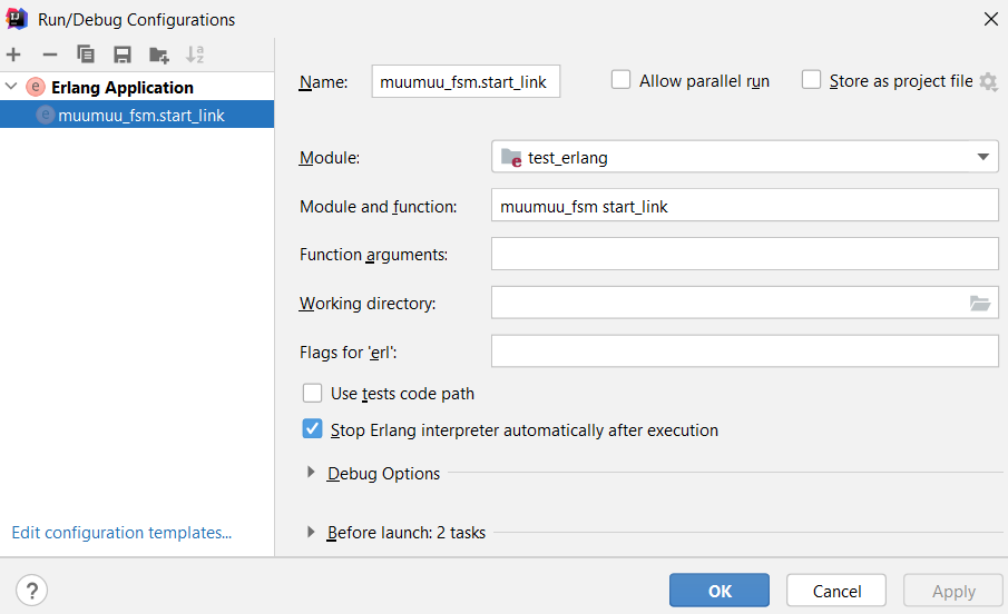 Installing the Erlang plugin