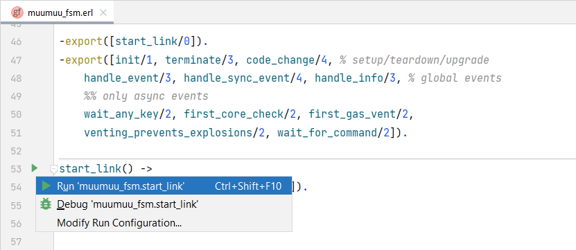 Quick-running Erlang App
